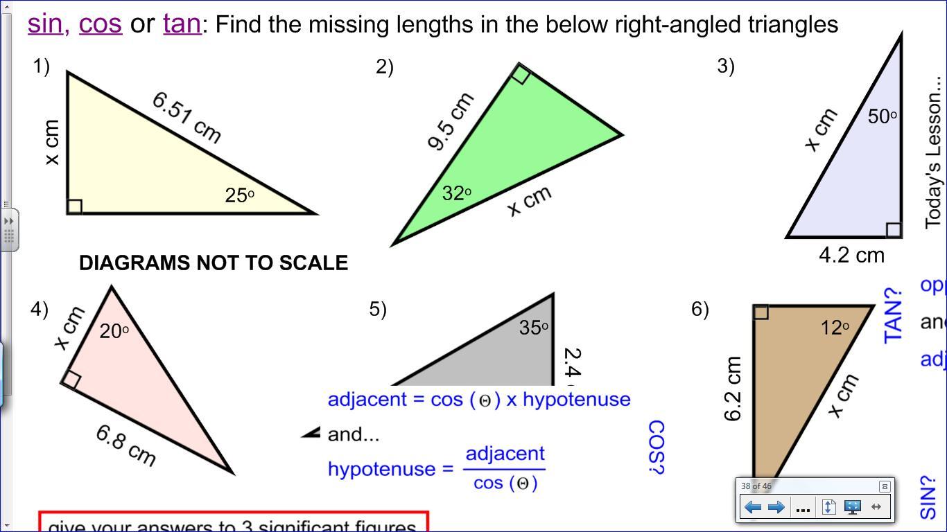 Mr Collins Mathematics Blog Teaching Trigonometry