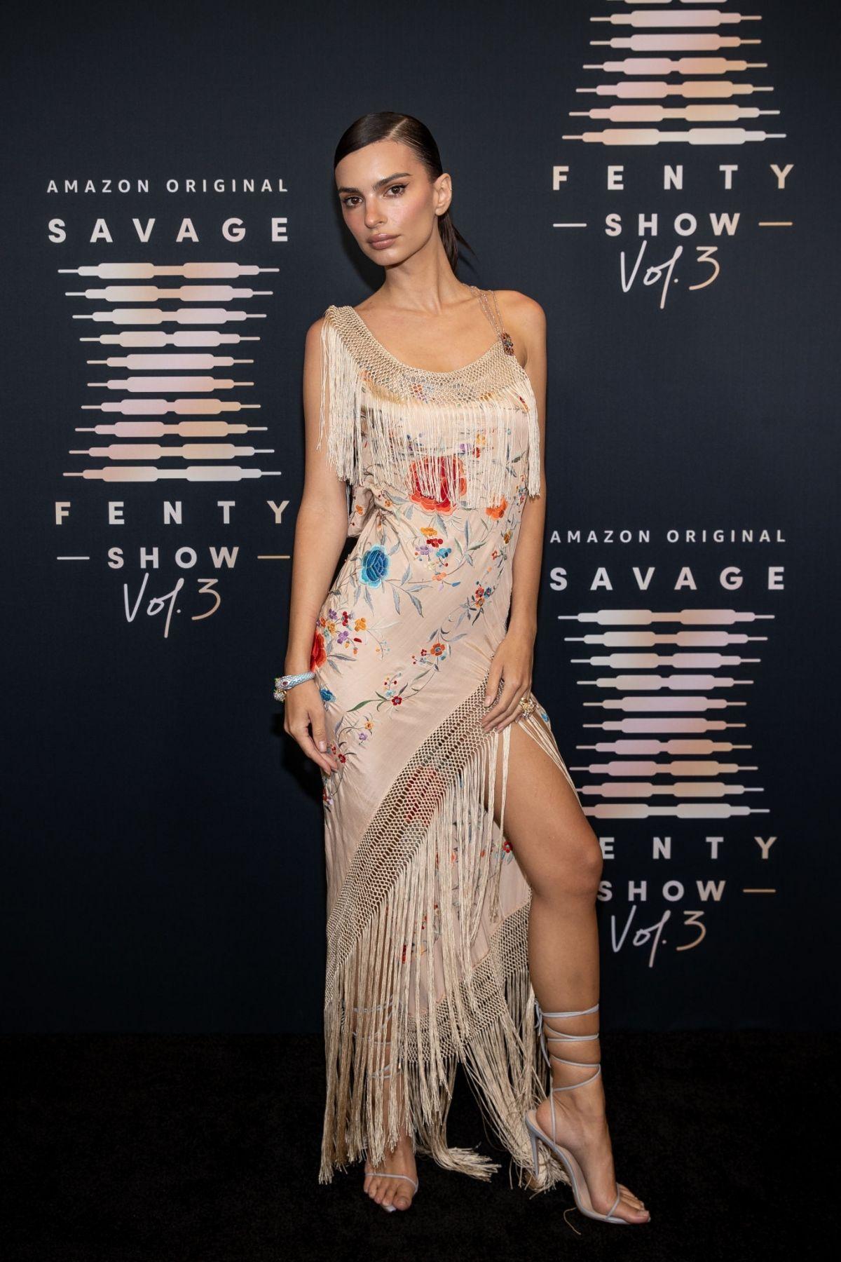EMILY RATAJKOWSKI at Savage x Fenty Show, Vol. 3