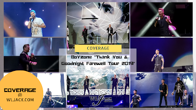 "[Coverage] Boyzone ""Thank you & Goodnight Farewell Tour 2019"""