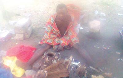 herbalist woman underwear ritual