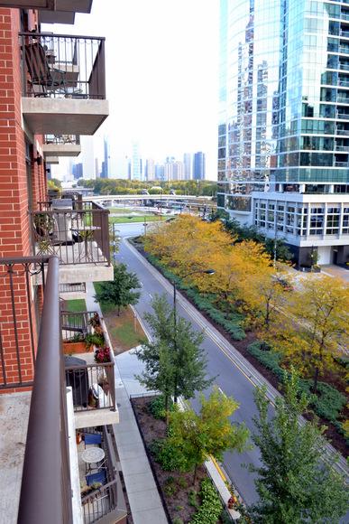 New Apartment Tour: Balcony View