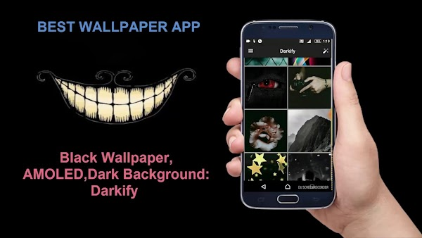 Black Wallpaper, AMOLED, Dark Background: Darkify 10.0 MOD:Ad Free