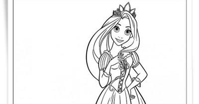 Rapunzel Malvorlagen Zum Ausdrucken