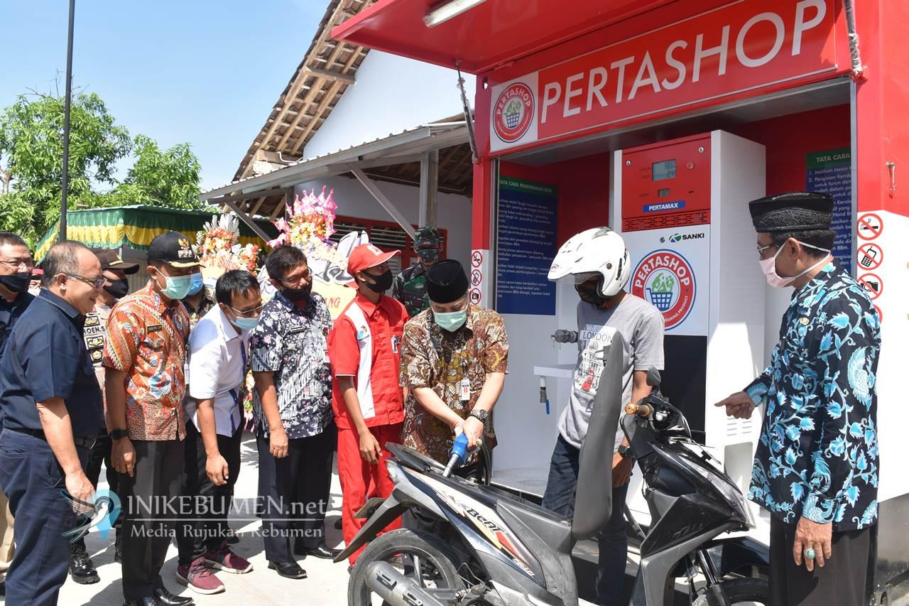 Resmi Beroperasi di Kebumen, Pertashop Wujudkan Satu Harga Pertamax Sampai ke Pelosok