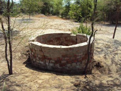 pozo agua contaminada