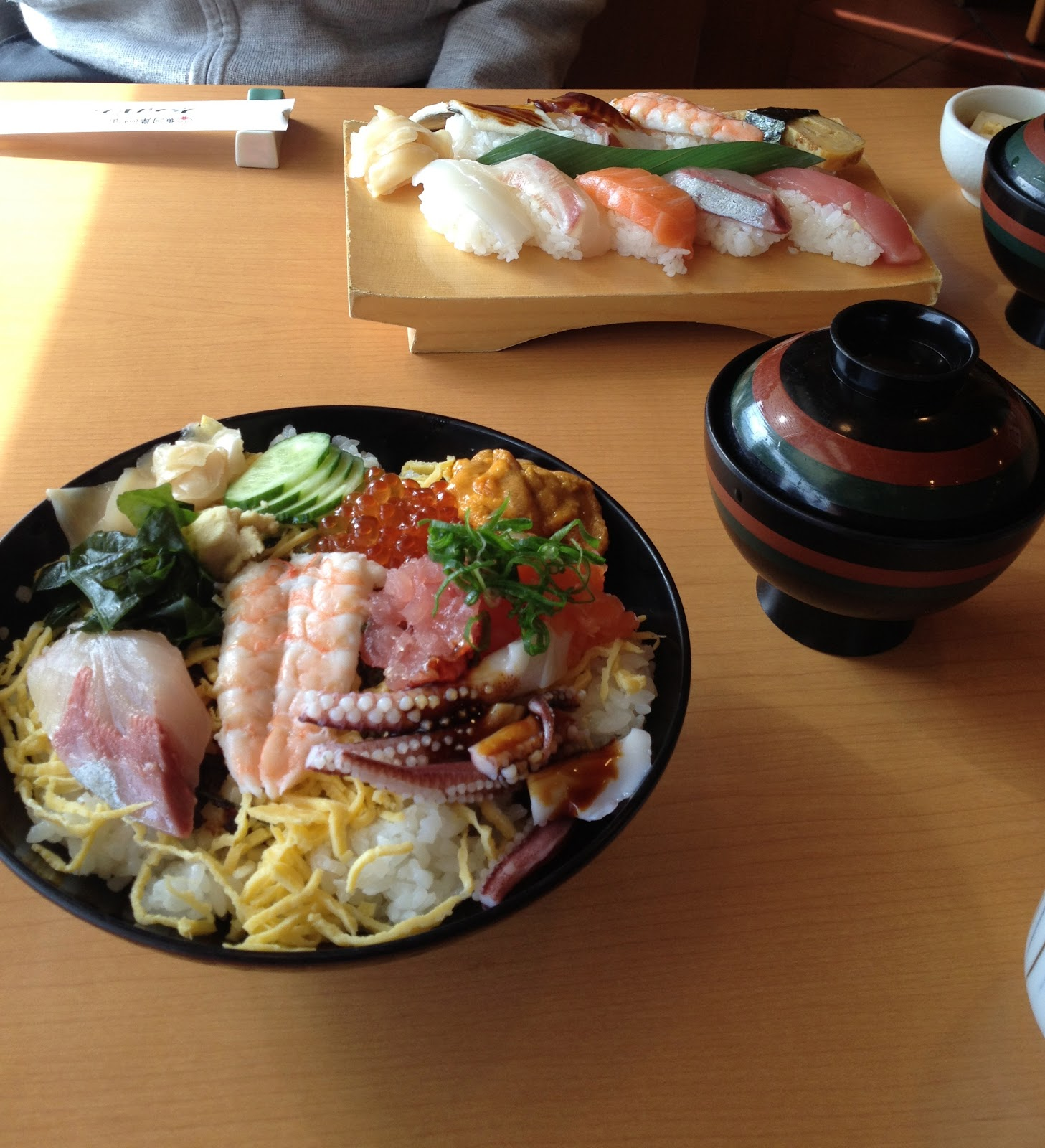 LEXIA's Blog: 大阪市中央卸売市場でランチ