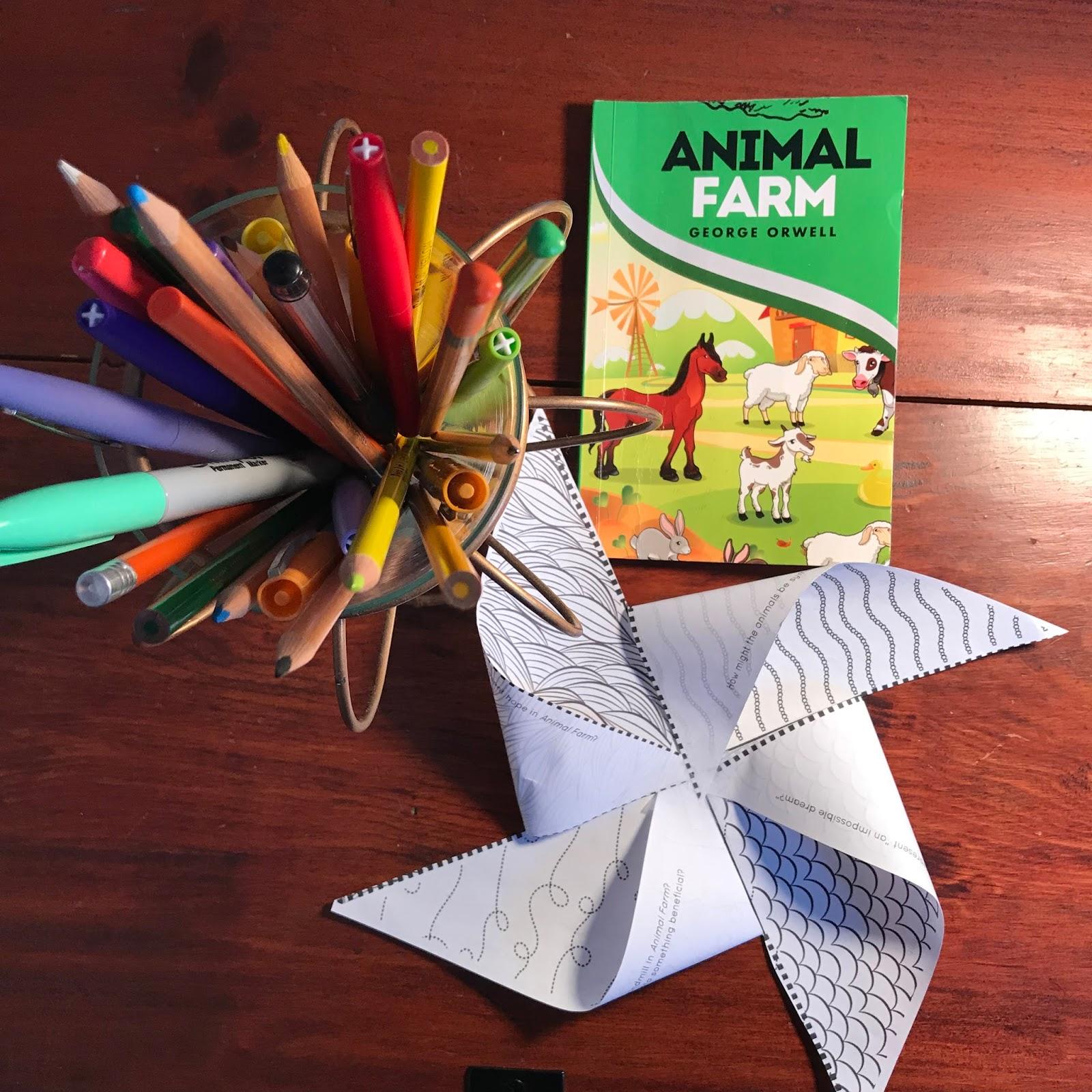 Building Book Love : Amp Up Animal Farm: Teaching Animal Farm Like