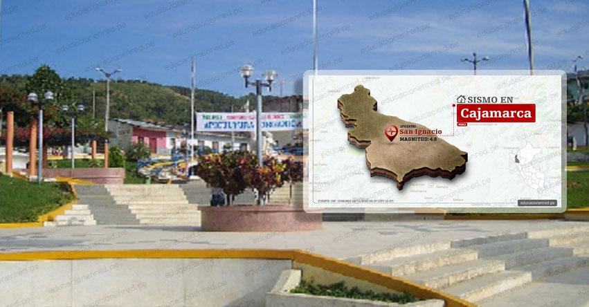INDECI no reporta daños por sismo de magnitud 4.9 en distrito de San Ignacio - Cajamarca