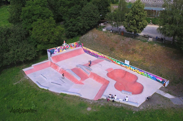 skatepark macot la plagne