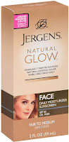 Jergens Natural Glow Healthy Complexion Daily Facial Moisturizer SPF 20 Fair to Medium