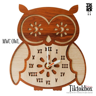 JAM DINDING MWC OWL BROWN