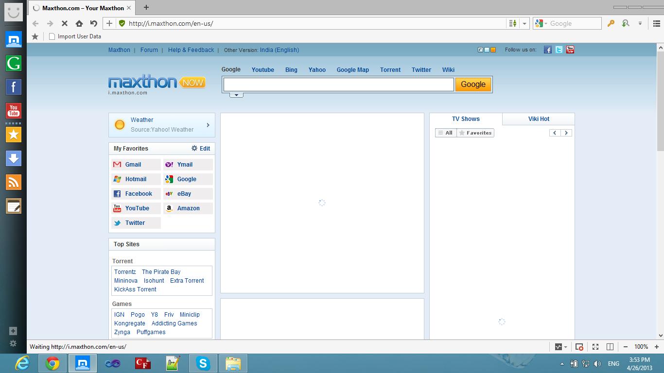 maxthon 4 2013