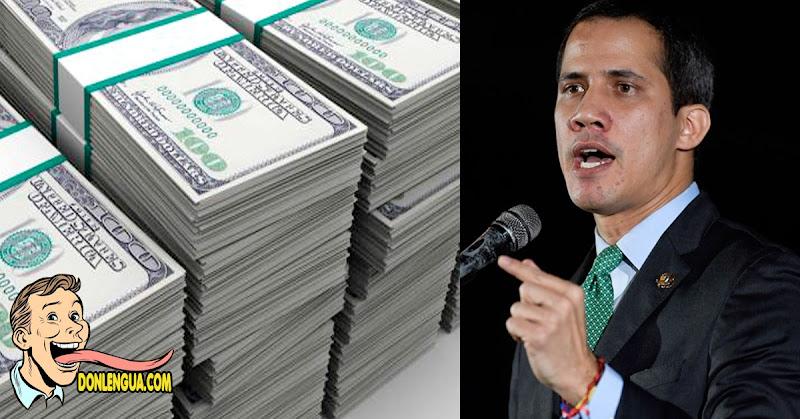 Juan Guaidó espera recuperar pronto los 105 mil millones de dólares robados por Maduro