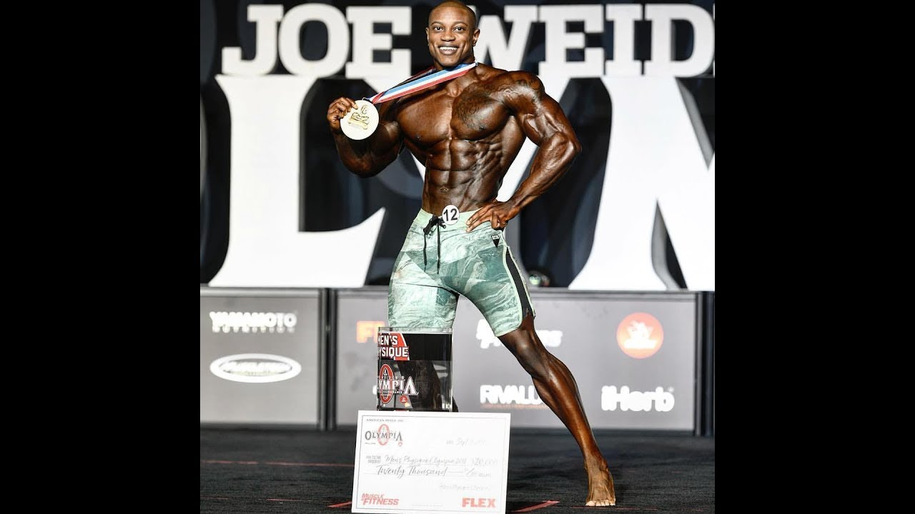 Brandon Hendrickson is the new 2018 Men's Physique Olympia champion!