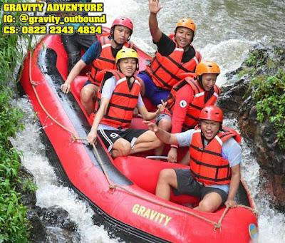 rafting di gravity adventure