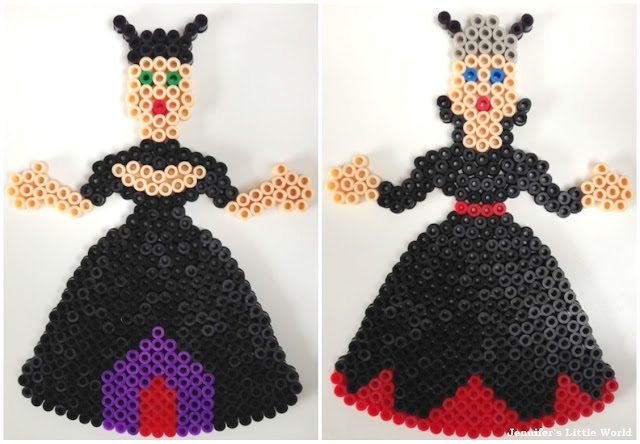 Hama bead witch designs