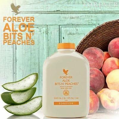 Aloe Bits and Peaches