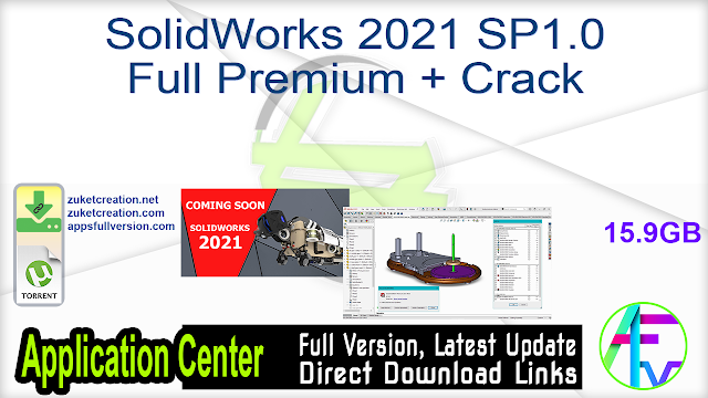 SolidWorks 2021 SP1.0 Full Premium + Crack