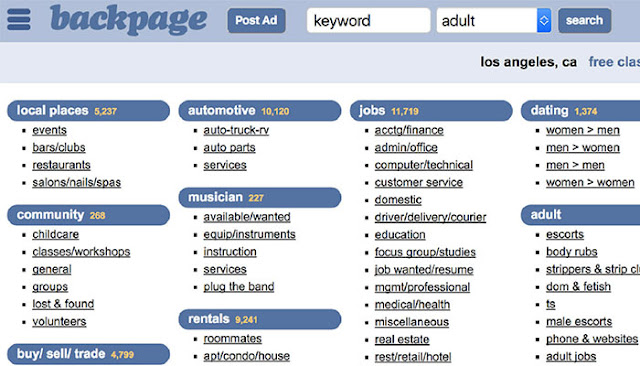 What Happened to Backpage? Alternatives for Erotic Classified Ads in the UK: eAskme