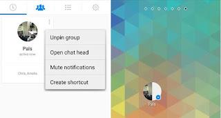 Create facebook group shortcut