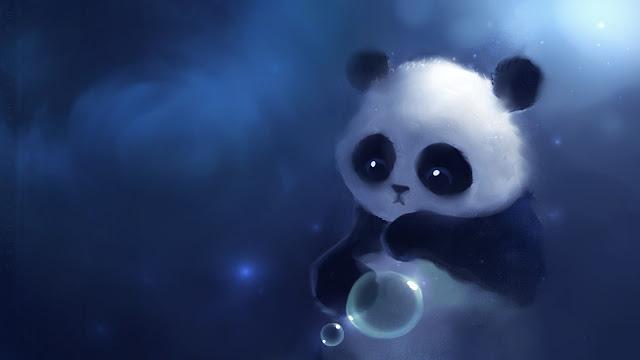 kawaii panda wallpaper