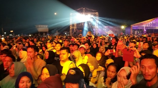 Puncak HUT Ke-76, Artis Ibukota Hipnotis Ribuan Warga Tangerang