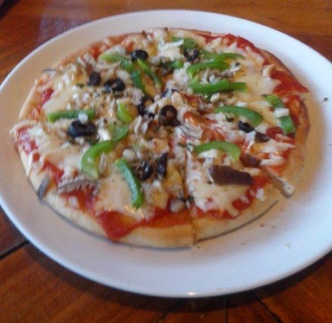 Пицца в кафе Джано