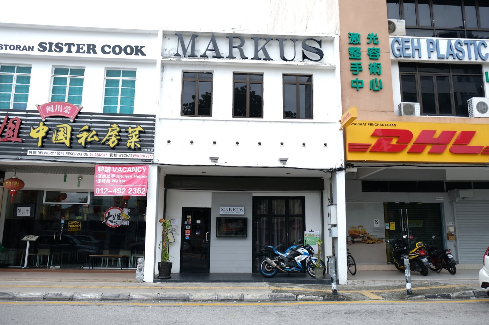 Markus - A Marvelous Italian Restaurant with Michelin Grade Chef in Pulau Tikus