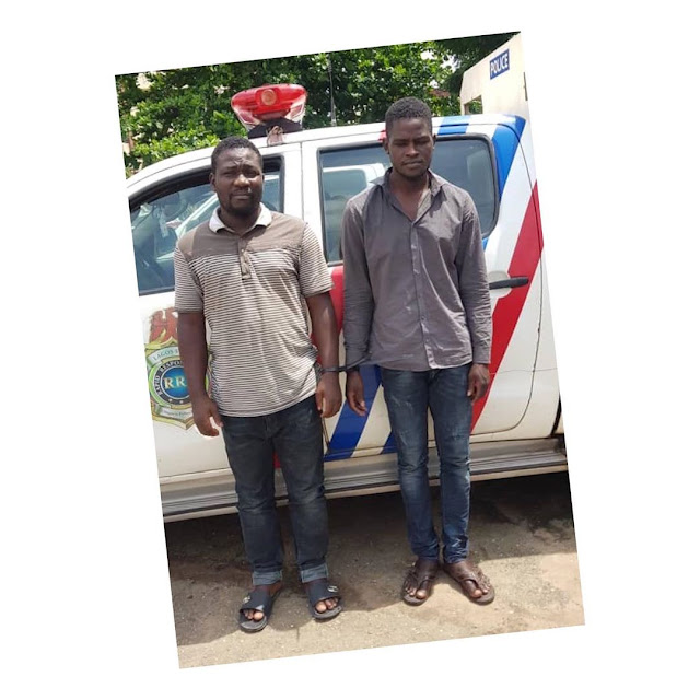 PHOTO: Two Domestic Workers Cart Away Celeb's N243M Jewelry, resell them for N6m