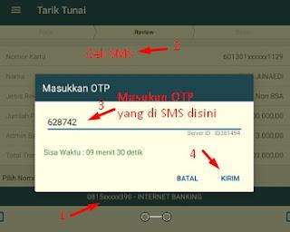 Cara Tarik Tunai ATM Bank BRI Pada Aplikasi BRILink Mobile Versi Terbaru