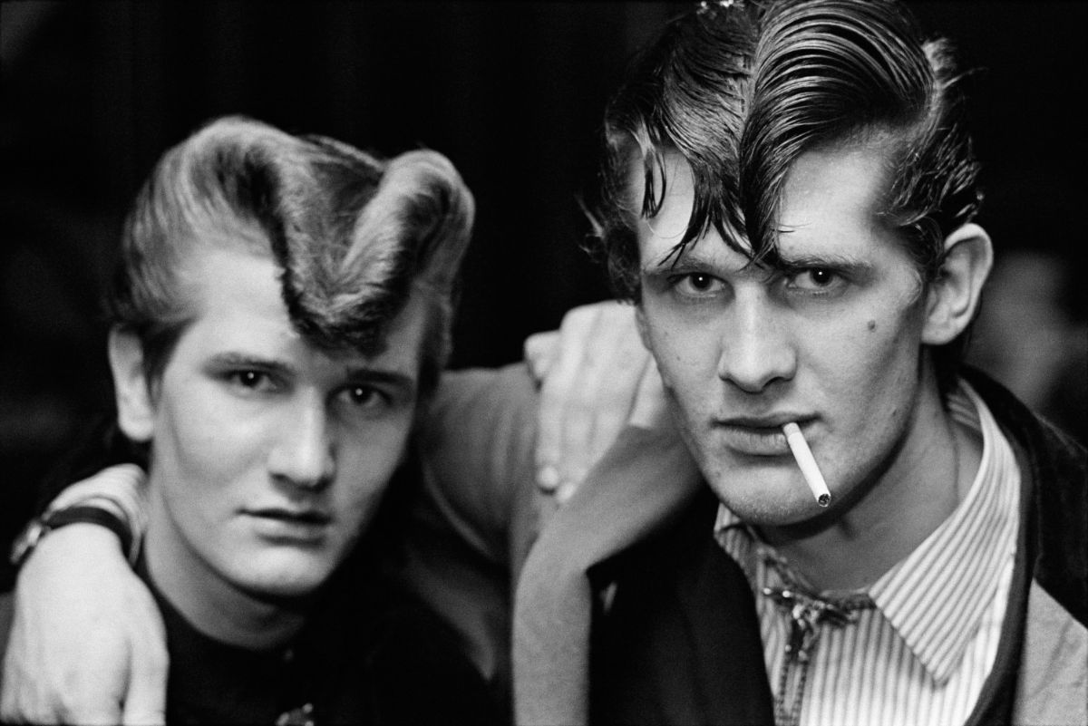 Striking Black and White Photographs of the Teddy Boys in the Mid-1970s
