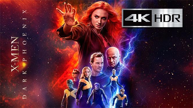 X-Men: Dark Phoenix (2019) REMUX 4K UHD [HDR] Latino-Castellano-Ingles