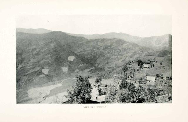 1908. View Huauhtla, Mexico - Print