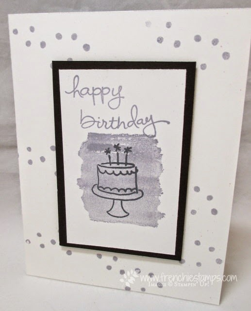 Stamp on the Go #20 Birthday Card