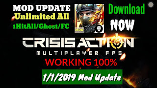 Crisis Action Mod Update V 3 0 2 1hit Wallhack Unlimited All