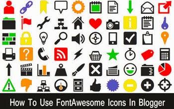 Hướng dẫn sử dụng Font Awesome cho Blogspot