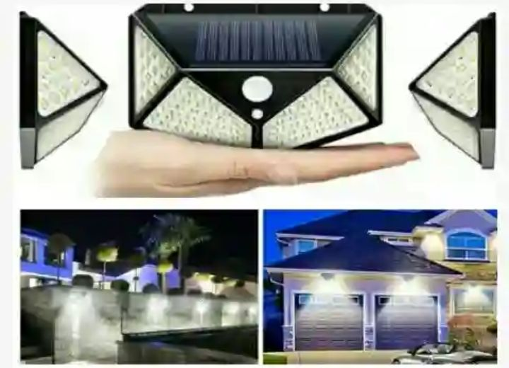 Wide-Angle Sunlight Powered LED Lamps - Goodland Solar Lights