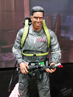 Diamond Select Ghostbusters 2 7 inch action figures Winston in grey