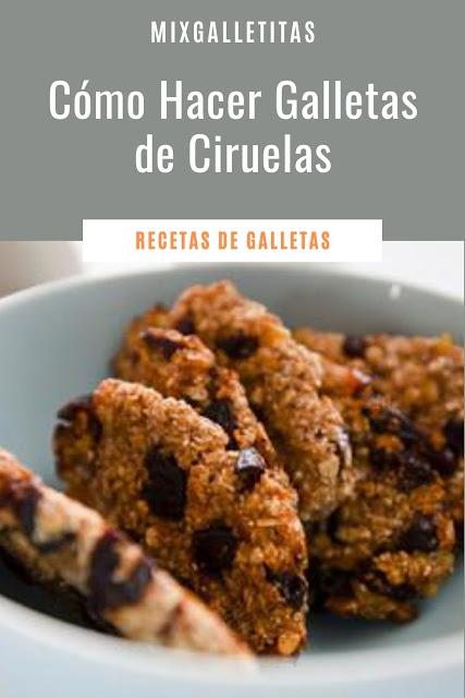 CÓMO HACER GALLETAS DE ¡CIRUELAS!