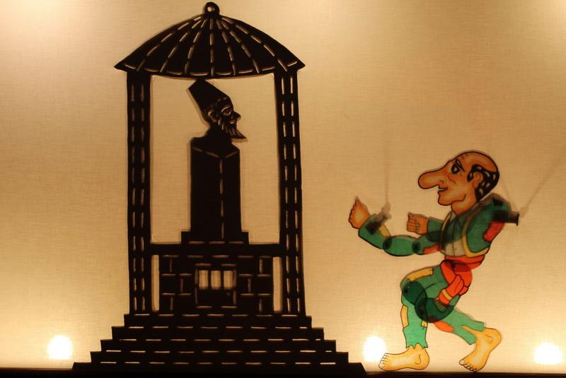 Παράσταση Καραγκιόζη και έκθεση ζωγραφικής για το θέατρο σκιών στο Δημοτικό Θέατρο Αλεξανδρούπολης