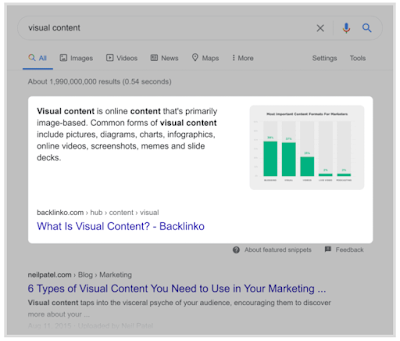 The Definitive Guide To SEO In 2021 - Optimize for Featured Snippets 5