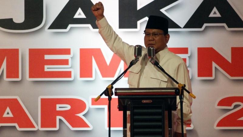Prabowo Subianto yakin Anies-Sandi menang