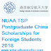 NUAA TSP Postgraduate China Scholarships for Foreign Students 2018