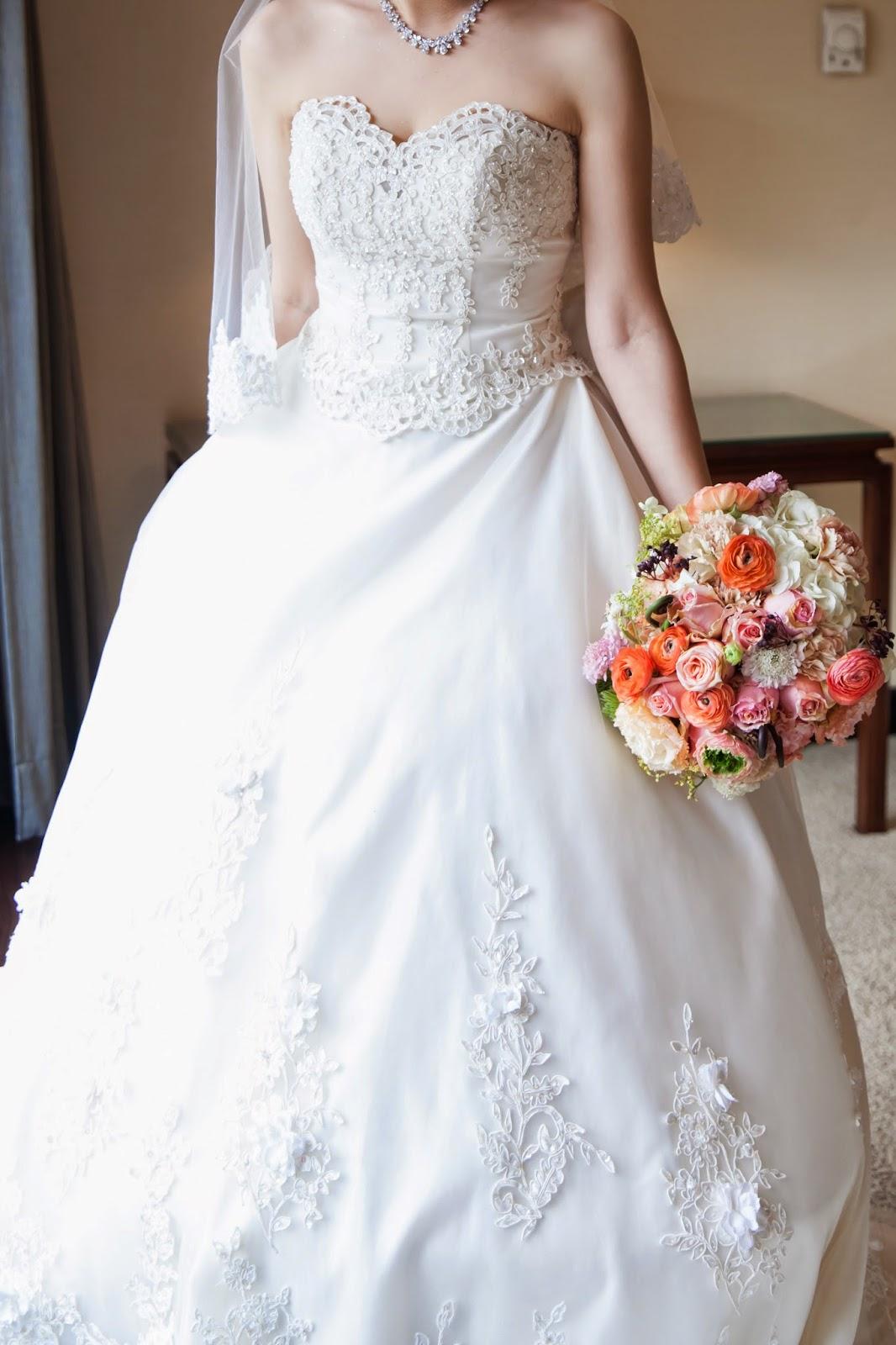 talk with me: [L&S 結婚] 夢幻白紗與晚禮服 - Alisha&Lace法式手工婚紗