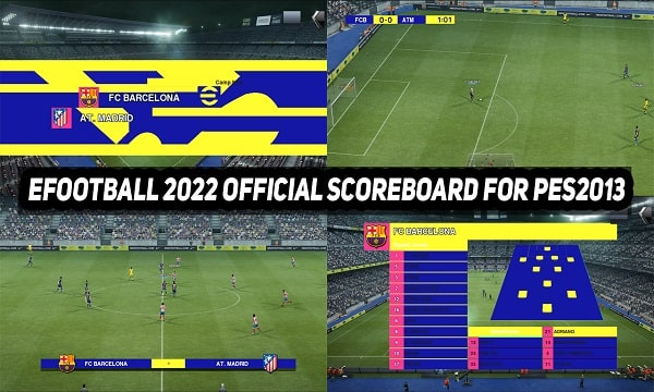 eFootball 2022 Official Scoreboard For PES 2013