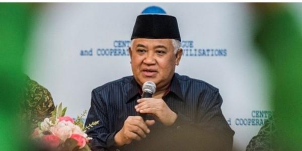 Din Syamsuddin: Wajar Umat Islam Marah ke Sukmawati, Ini Kejadian yang Kesekian Kali