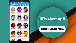 IPTv4best Apk Free IPTv