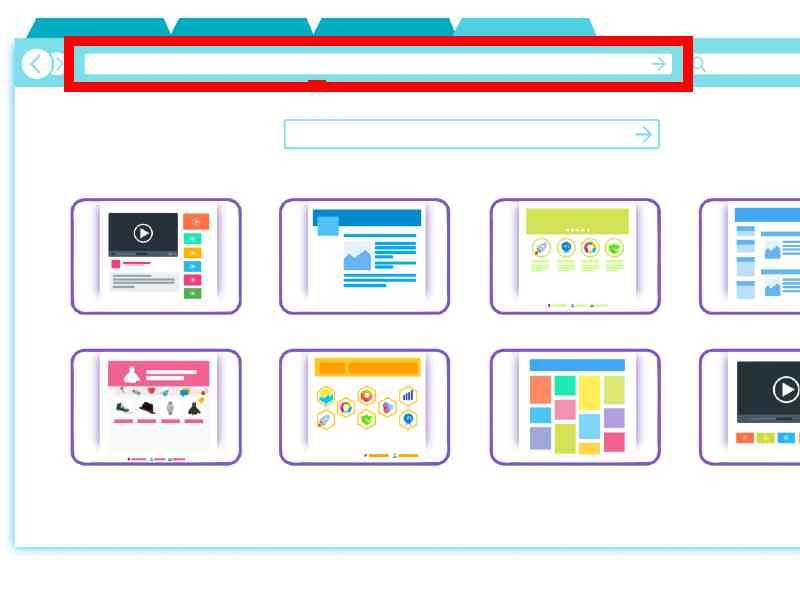 Browser URL Box