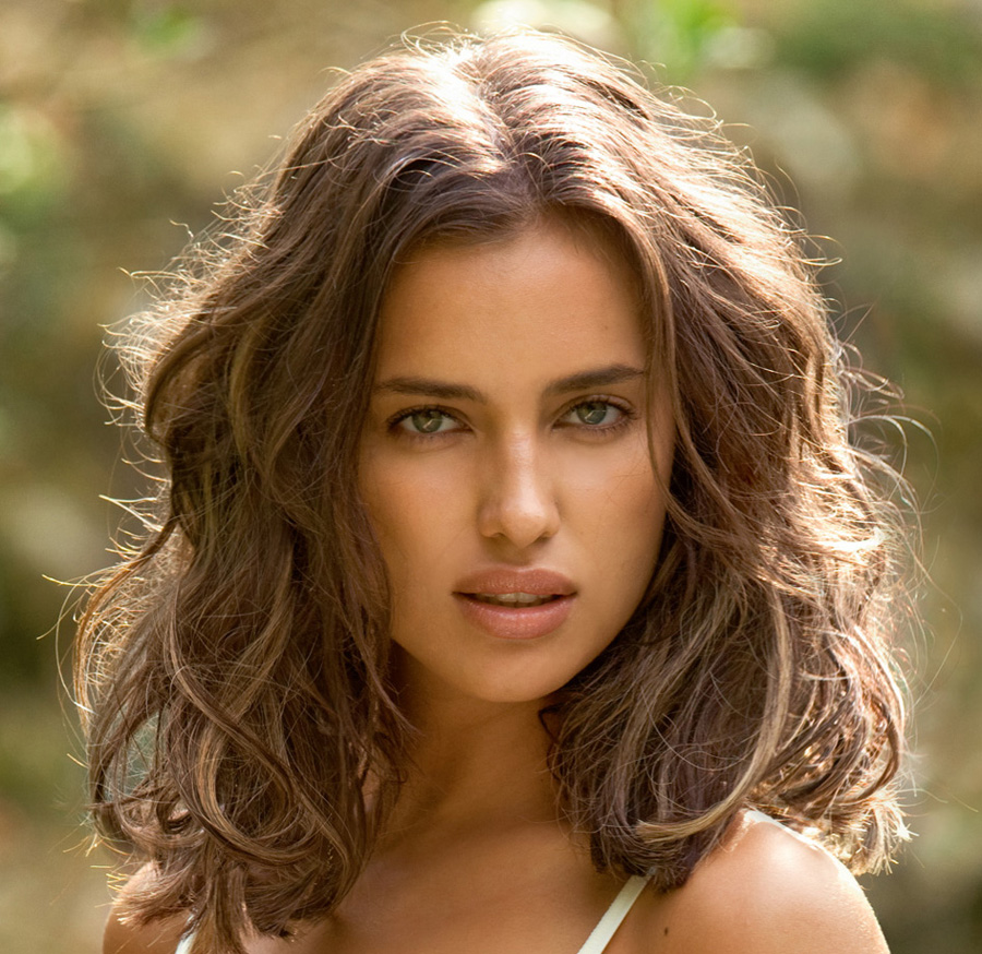Irina Shayk Natural Hair Color