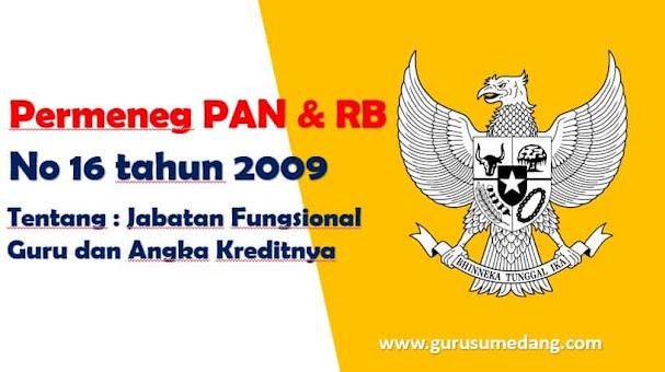 Permenneg PAN RB no 16 Tahun 2009